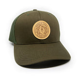 H&T Explore Bear Patch Hat - (Curved-Brim)