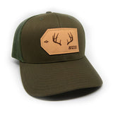 H&T Buck Antler Patch Hat