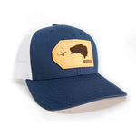 H&T Largemouth Bass Patch Hat - (Curved-Brim)