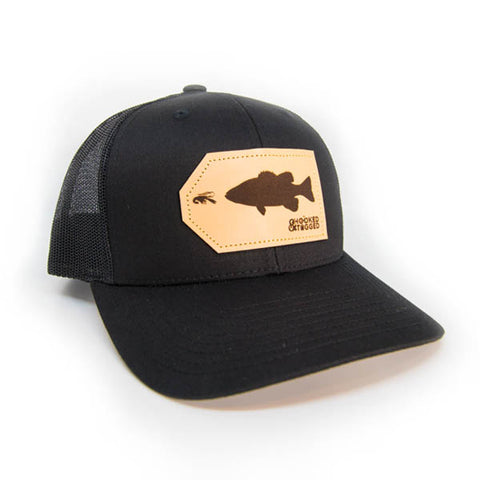 H&T Smallmouth Bass Patch Hat