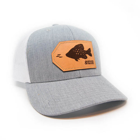 H&T Crappie Patch Hat - (Curved-Brim)