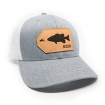 H&T Smallmouth Bass Patch Hat - (Curved Brim)
