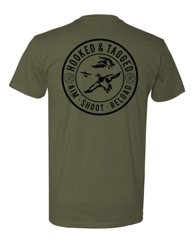 H&T Aim. Shoot. Reload. T-Shirt