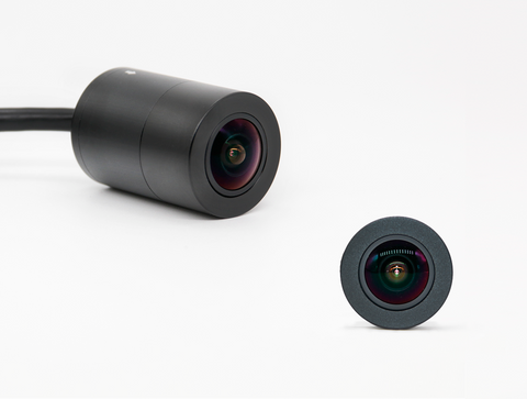Mini Outdoor Camera with Fisheye Lens/Wide Angle, Phylink PLC-134