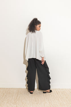 High Slit Flowy Pants