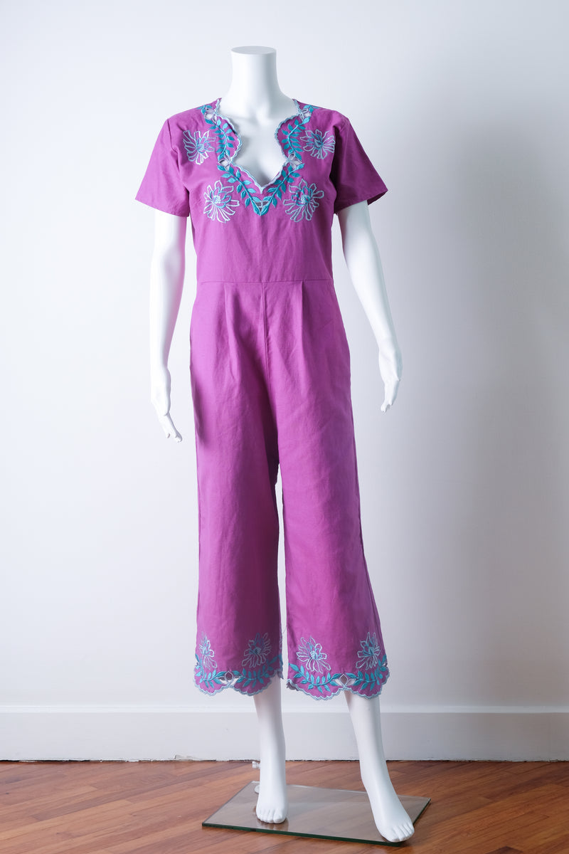 Ostrava jumpsuit in Orchid