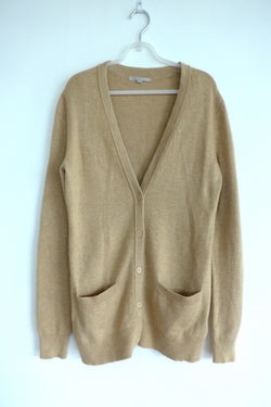 Long line V-neck cardigan