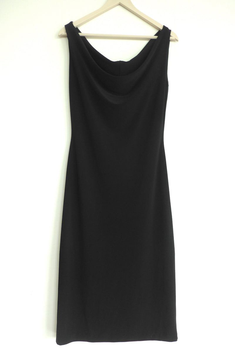 Simple LBD with Cowl Neck
