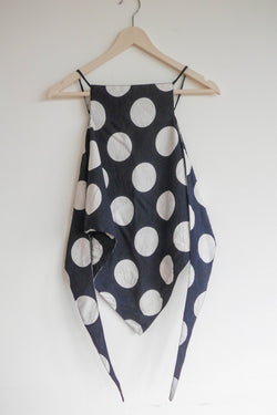Kelly 2-way scarf in polka dots