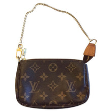Load image into Gallery viewer, Louis Vuitton Mini Pochette with Chain