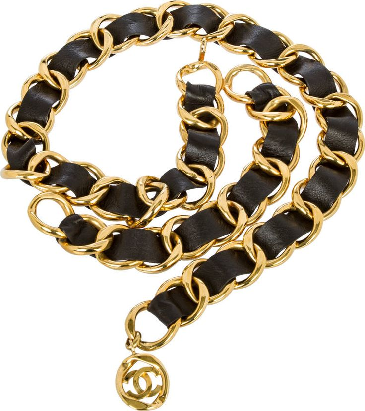 Chanel Runway Chain Link Belt