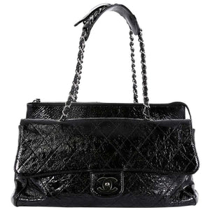 Chanel Classic Flap Large Quilted Ritz Shoulder Bag