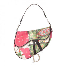 Load image into Gallery viewer, Christian Dior Silk Paisley Saddle Bag