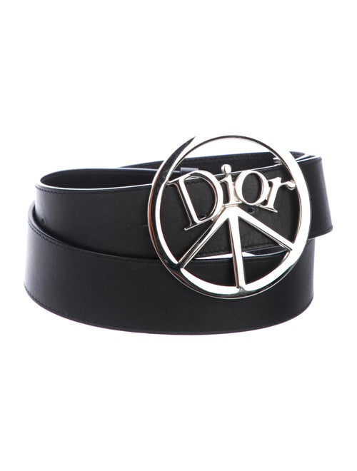 Dior Peace Leather Belt