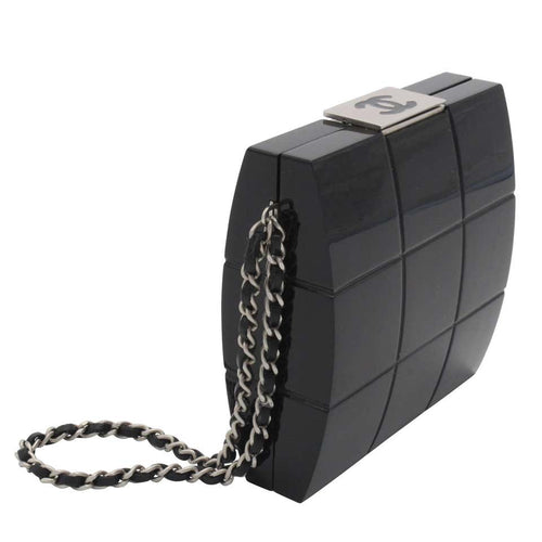 Chanel Collectors Acrylic Minaudière Clutch
