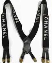 Load image into Gallery viewer, Chanel Logo Spring 1994 Suspenders