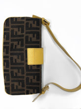 Load image into Gallery viewer, Fendi Zucca Embellished Baguette