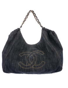 Chanel Denim XL Coco Cabas Tote