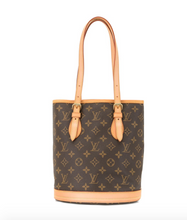 Load image into Gallery viewer, Louis Vuitton Monogram Petite Bucket Bag