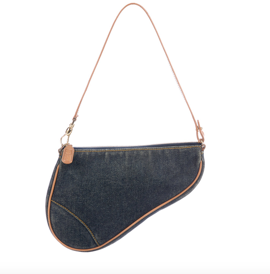 Christian Dior Denim Diorissimo Saddle