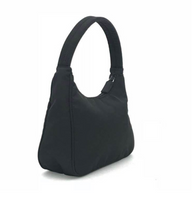 Load image into Gallery viewer, Prada Tessuto Black Nylon Baguette