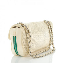 Load image into Gallery viewer, Chanel Perforated Baseball Spirit Flap Bag