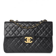 Load image into Gallery viewer, Chanel XL Lambskin Jumbo