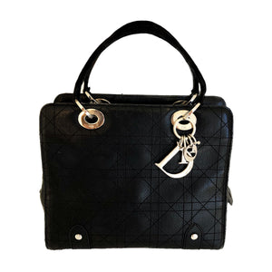 Vintage Lady Dior Cannage Satchel