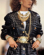 Load image into Gallery viewer, Chanel Fall 1991 Iconic Ad Campaign Giant CC necklace/belt
