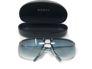 Gucci Blue Sunglasses