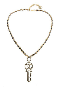 Chanel Key Necklace