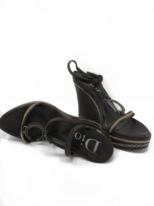 Christian Dior CD Wedges