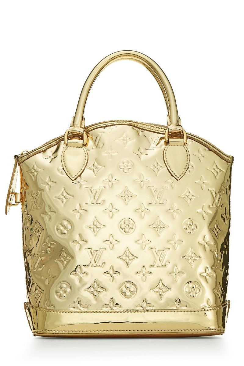 Limited Edition Louis Vuitton Gold Monogram Miroir Lokit