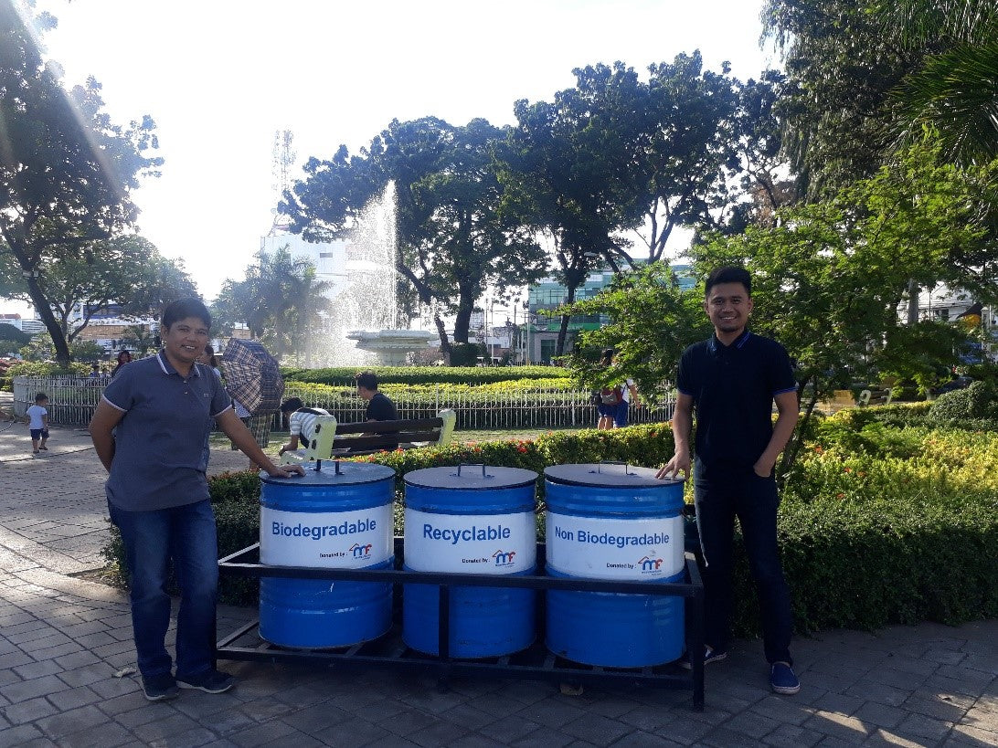 Garbage Bins For Cebu City Public Markets And Parks