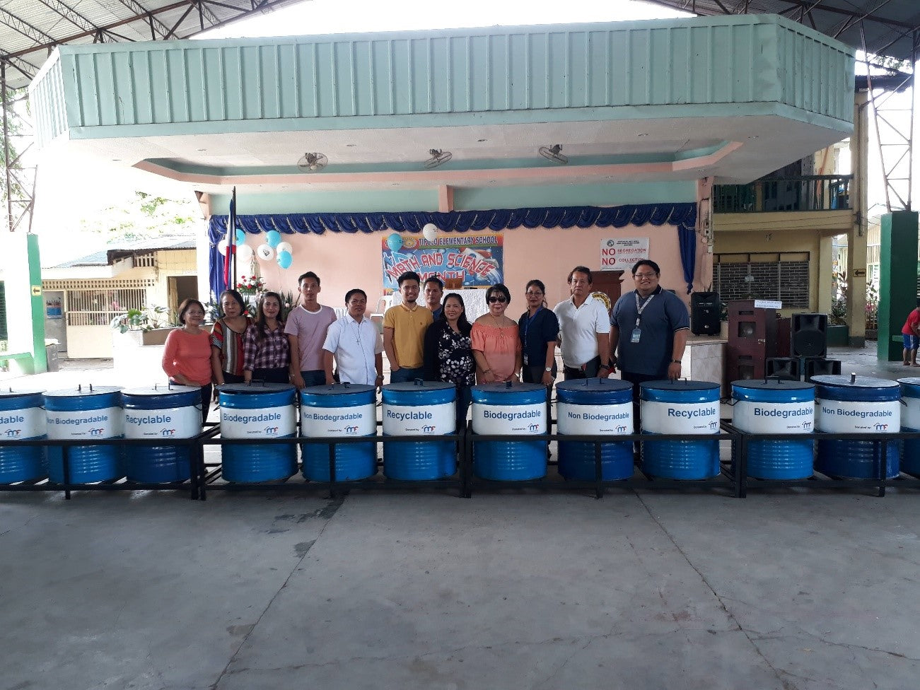 Garbage Bins For Mandaue City Parishes And Schools