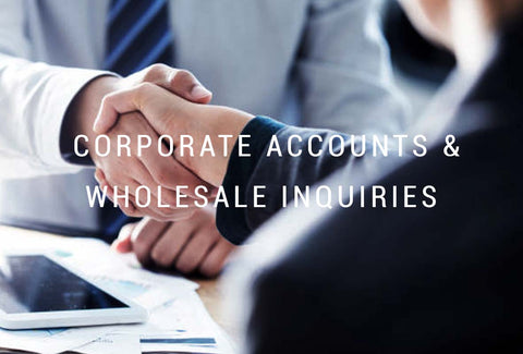 Corporate Accounts and Wholesale Inquiries