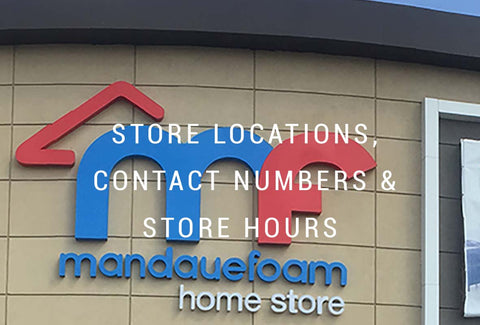 Store Locations, Contact Numbers & Store Hours
