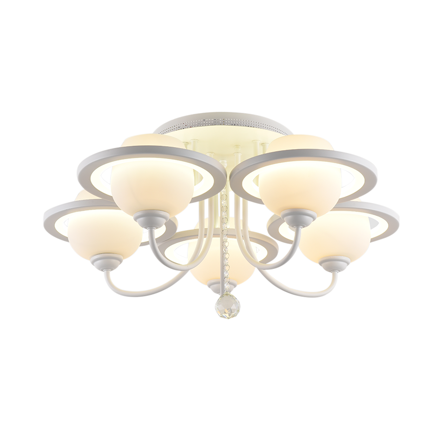 00146/5 Glass Ceiling Lamp