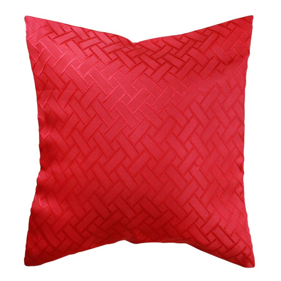 FB011Decorative red pillow case 41x41cm
