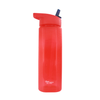 109 700ml Water Tumbler W/ Straw - Red - Mandaue Foam