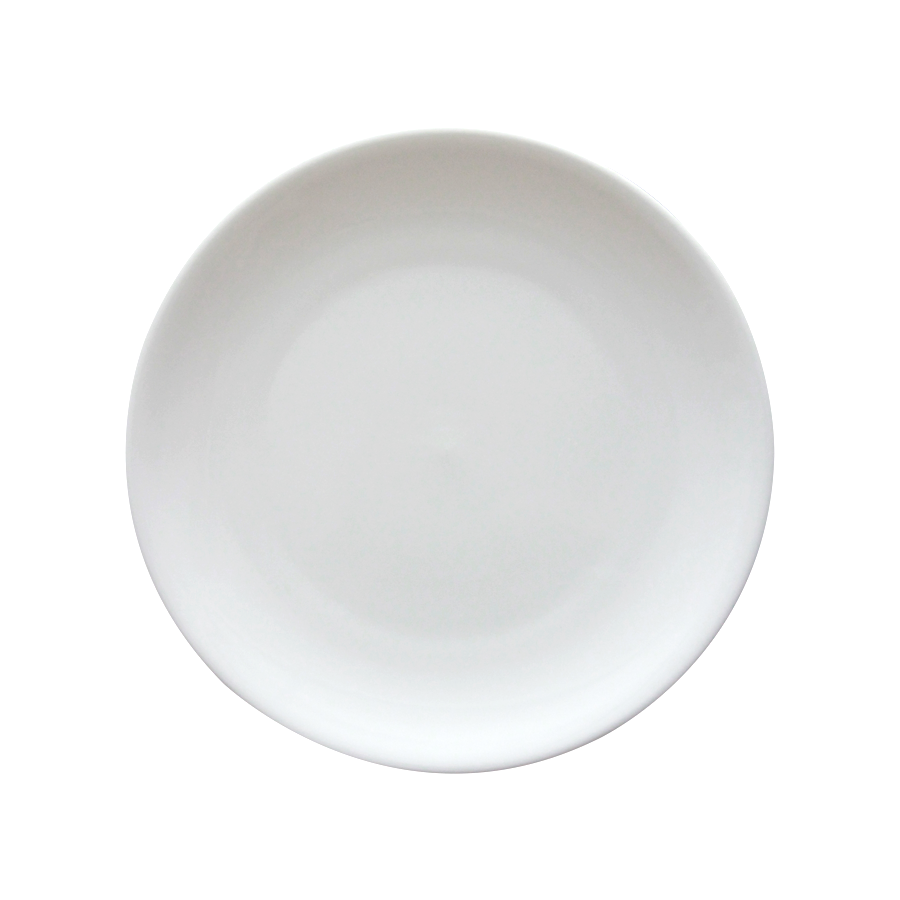 "10"" Coupe Porcelain Dinner Plate"