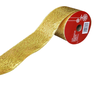 1940623C-G Christmas Ribbon 10 Yards Roll ( Gold )
