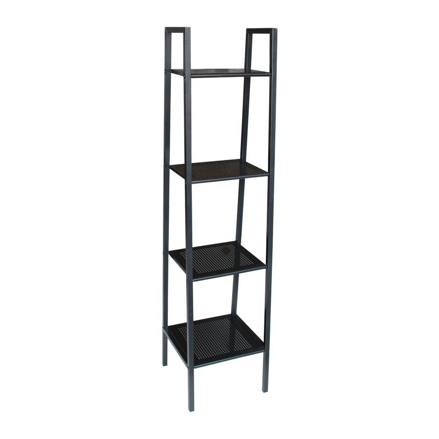 Sharon 4 Tier Bookcase - Black