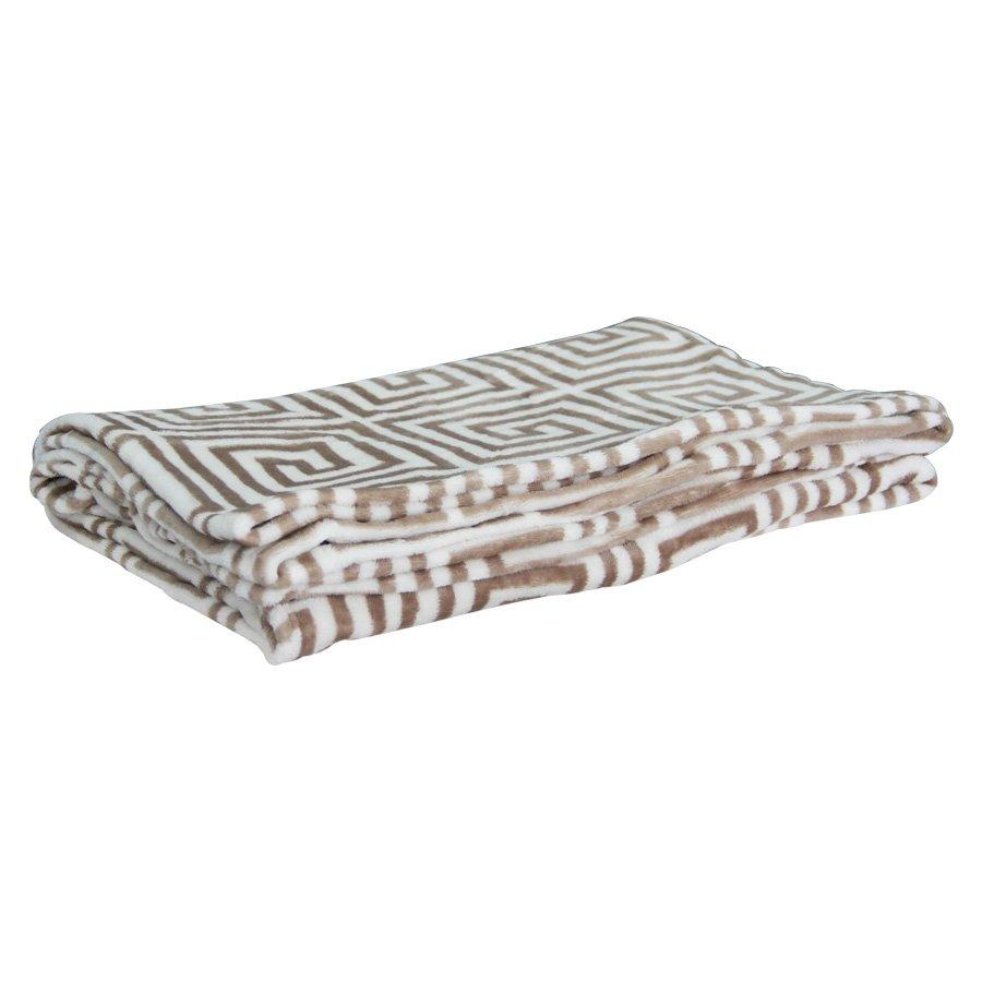 FLL02P/4553 Printed Flannel Blanket - Mandaue Foam