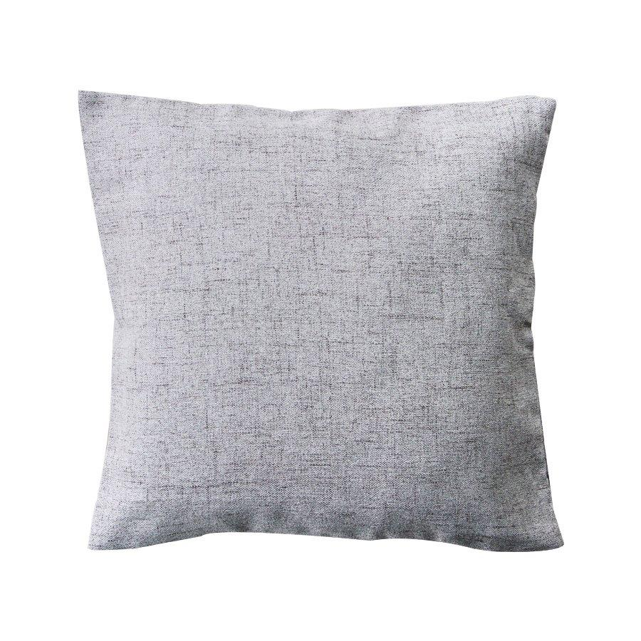 R0040-C2138 Beige Linen Look Throw Pillow Case