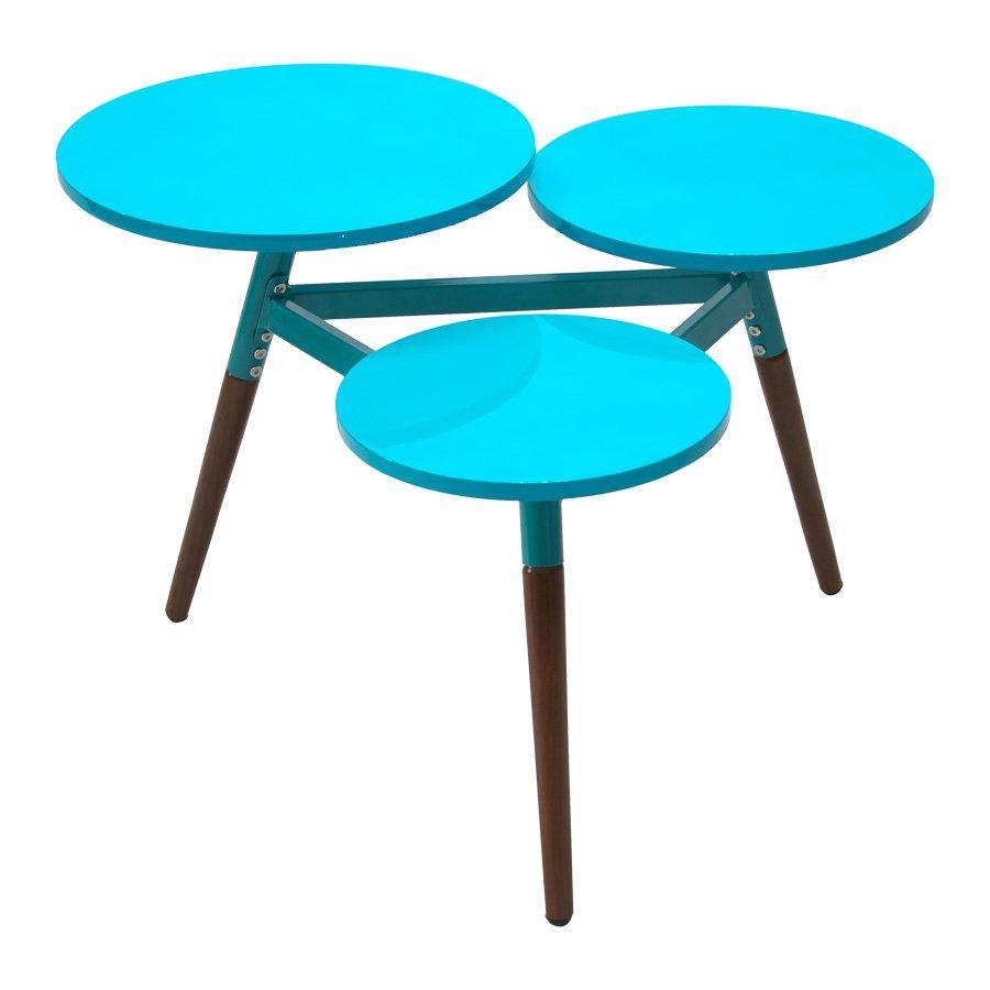 Biel Coffee Table - Shining Turquoise