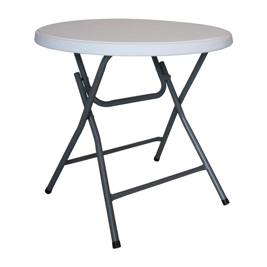 Anders 80cm Round Table - White - Mandaue Foam