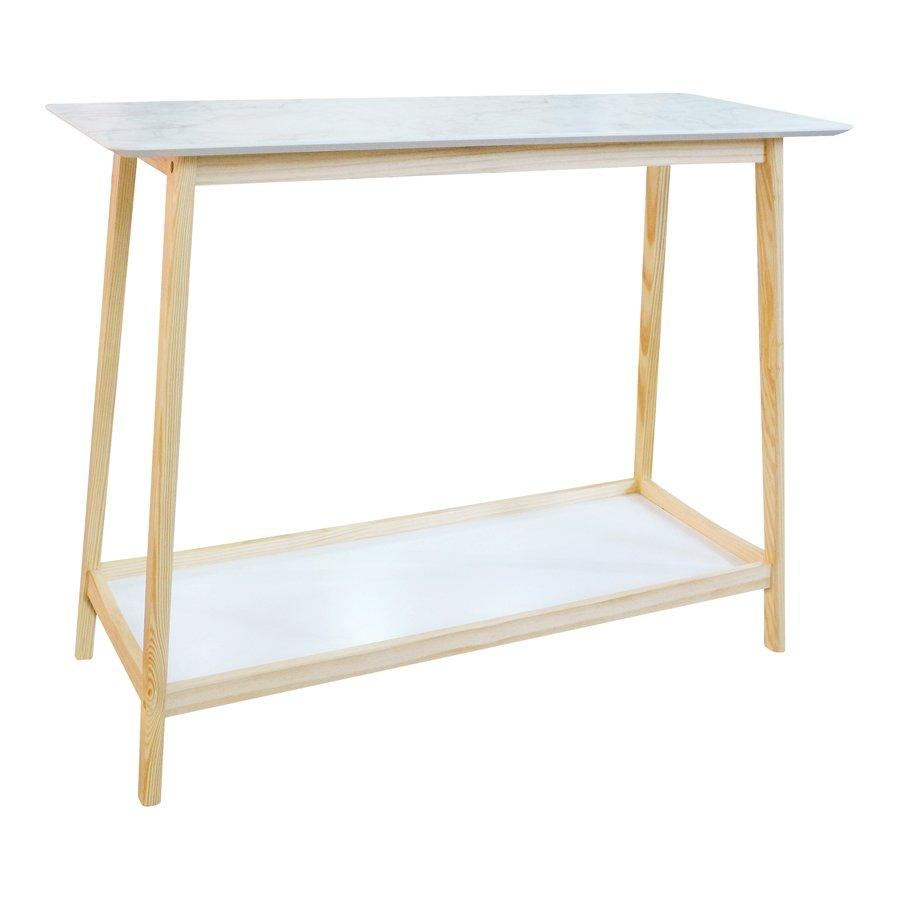 Gustov Console Table - Marble Pattern