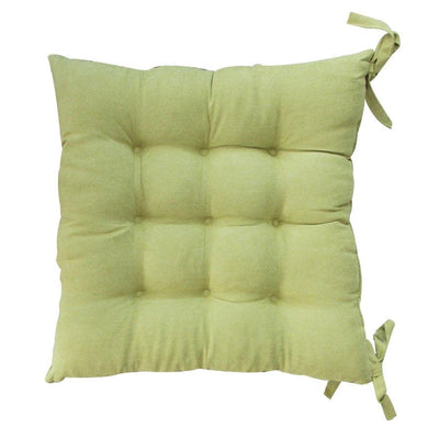 ST-01 Sage seat pad tufted suede 40x40cm