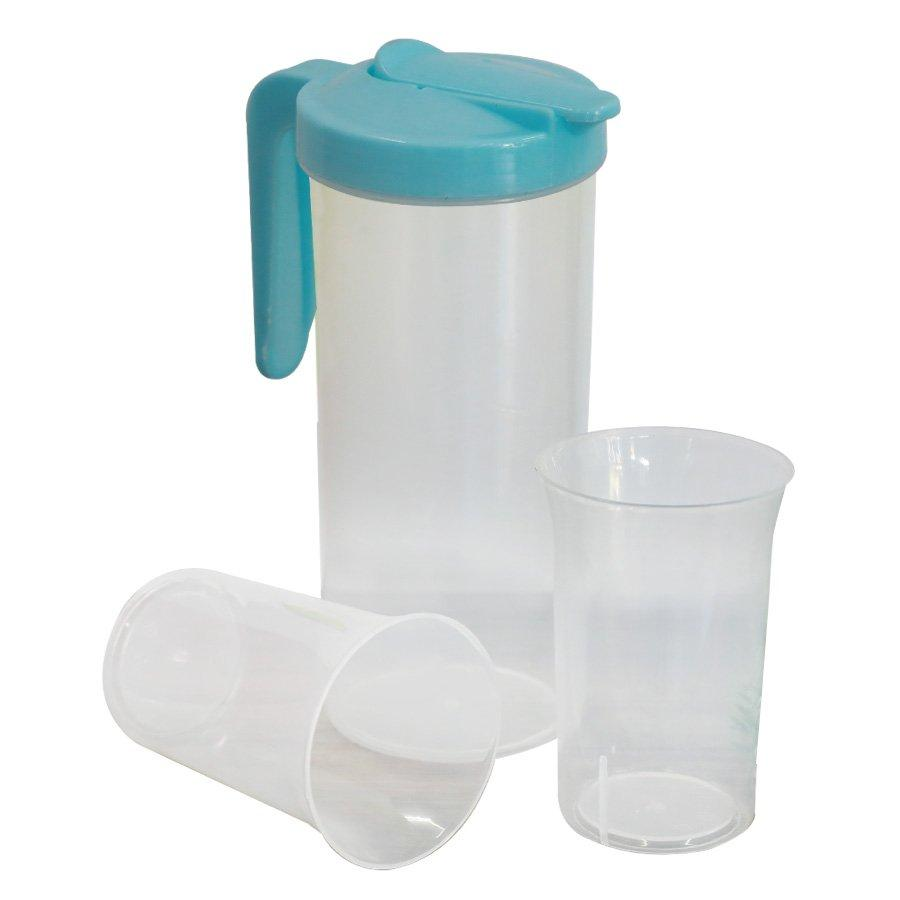 TH-D32+TH-D33 Jug With 4 Piece Tumbler Set